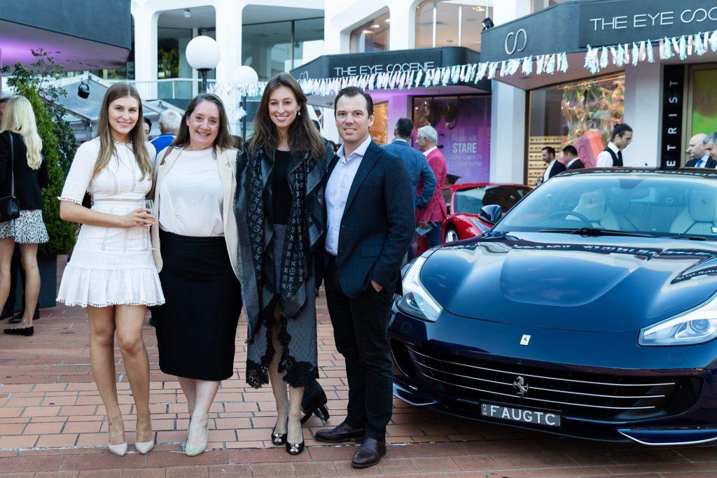 The Luxury Network Australia X Ahoy Club X Ferrari Australasia Event
